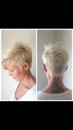 Punk rock hair style