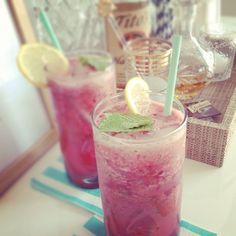 Cherry Watermelon cocktail