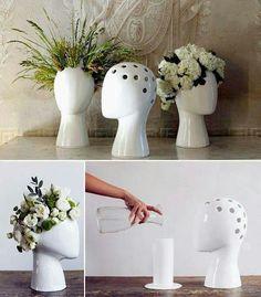 For floral arrangements or indoor plants ~ vase Designed by Tania da Cruz Ceramic Pottery, Ceramic Art, Pottery Vase, Keramik Design, Decoration Plante, Arte Floral, Home And Deco, Vases Decor, Vase Decorations