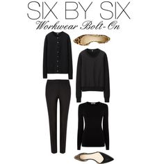 Six By Six - Workwear Bolt On by charlotte-mcfarlane on Polyvore featuring moda, Uniqlo, Oasis and 3.1 Phillip Lim