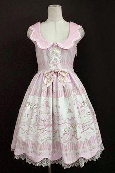 BABY, THE STARS SHINE BRIGHT / Kumakumya chan small candy craftsman Judy jumper skirt