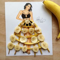 Banana Dress by Edgar Artis