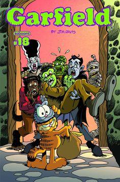 #Garfield #17 #Boom #Kaboom (Cover Artist: Gary Barker) On Sale: 10/2/2013