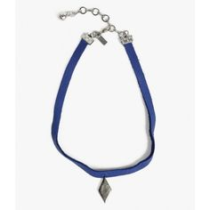 Vanessa Mooney Royal Blue Choker ($44) ❤ liked on Polyvore featuring jewelry, necklaces, gunmetal, choker necklace, vanessa mooney jewelry, choker jewelry, vanessa mooney and vanessa mooney necklace