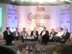 """Indecomm #Learning participated as the Learning Partner at the """"Economic Times – Manufacturing Summit"""" held on 23rd Jan 2014 at Mumbai. The Summit attracted industry barons from Automobile to FMCG. Indecomm's presence was felt through its corporate branding and the panel session on Creating conducive environment for enhancing workforce productivity. Dinesh Poduval – Head Learning Services, represented Indecomm for this session. #elearning"""