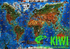 Cartoon map of the world The wooden puzzle 1000 pieces ersion paper jigsaw puzzle white card adult children's educational toys World Map Wall Art, Wall Maps, Wooden Puzzles, Jigsaw Puzzles, Wooden Jigsaw, Jigsaw Gifts, World Famous Paintings, Prehistoric World, Prehistoric Animals
