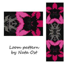 """Beading Loom Pattern Bracelet """"Heavenly Melody"""" Seed Bead Cuff Instant Download"""