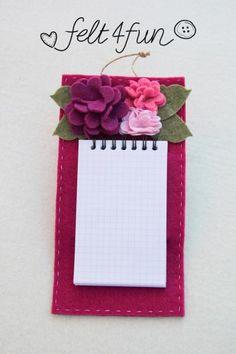 Notes feltro - artesanum com