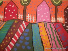 folk art houses, maybe could do a folk art barn/farm and have as a rodeo opition