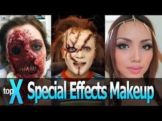 Top 10 YouTube Special Effects Makeup Channels - TopX Ep.12 - YouTube