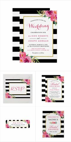 Wedding Collection Invitation Suite: Personalize with your own details, quickly, easily with automatic name changer. 30 Day Money Back Guarantee. Wedding Invitation Trends, Mason Jar Wedding Invitations, Bridal Shower Invitations, Invitation Design, Wedding Stationery, Invites, Wedding Party Songs, Wedding Themes, Wedding Cards