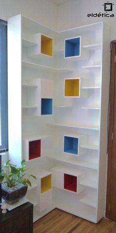 Eidetica/Mondrian/Bookshelf
