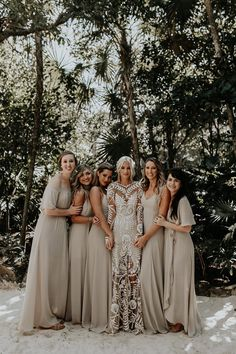 "Real Wedding Celbi + Gabe Dress: Rue De Seine ""Avril"" #bridesmaids #weddinginspiration Bohemian Wedding Dresses, Elegant Wedding Dress, Tulle Wedding, Wedding Gowns, Maternity Gowns, Wedding Arrangements, Wedding Dress Shopping, Vineyard Wedding, Lacer"