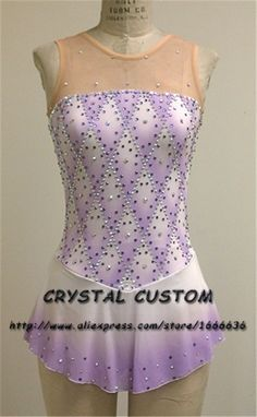 Cheap dress brand, Buy Quality dress for directly from China dress grace Suppliers: Girls Custom Figure Skating Dresses Graceful New Brand Kids Ice Skating Dresses For Competition Ice Dance Dresses, Ice Skating Dresses, Figure Skating Outfits, Figure Skating Costumes, Modern Dance Costume, Dance Costumes, Gymnastics Outfits, Skate Wear, Beautiful Figure