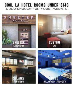 Cool, cheap LA hotels