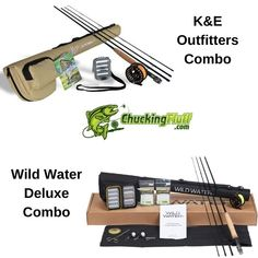 K-E Outfitters and Wild Water Deluxe Fly Combos. Outfits for the beginner. K-E Outfitters and Wild Water Deluxe Fly Combos. Outfits for the beginner. Best Fly Fishing Rods, Fly Fishing For Beginners, Wild Waters, Fly Reels, Best Rated, Fishing Outfits, Sports Activities, Trout Fishing, 17th Century