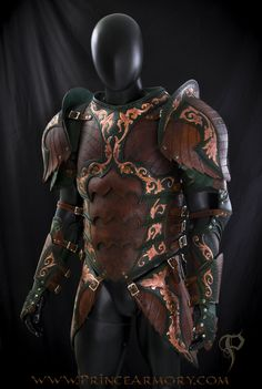 Warrior Rogue Leather Armor by Azmal on deviantART