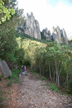 Pequeña montaña (senderismo en familia): Montserrat, els Frares Encantats