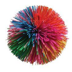 Baumgartens Stringy Play Ball - Koosh Ball - Use as a  pom pom substitute.