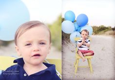 First Birthday Session- Beach