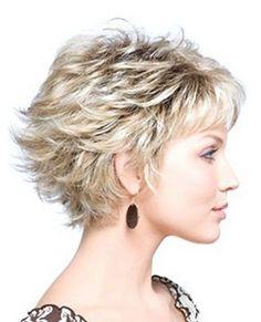Kısa Katlı Saç Modelleri 12