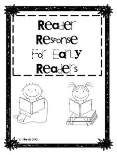 Reading strategies bookmark with super cute animals to