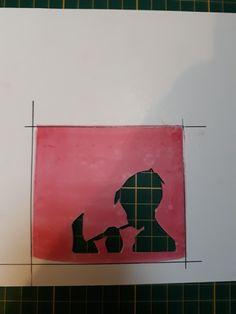 Stencil personage 1