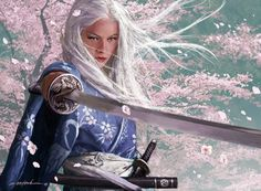 Doji Seo by Michael Komarck for Legend of the Five Rings CCG