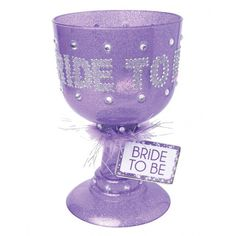 Bachelorette Party Favors Bride to be Pimp Glass | PD7927-12 | Pipedream Products