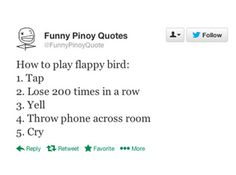 11 People Who've Had Their Lives Ruined By Flappy Bird