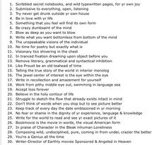 Rejection Letter Bingo  Writers Write Creative Blog  Writing