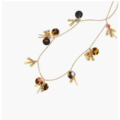 Dangling paillette necklace Dangling paillette necklace J. Crew Jewelry Necklaces