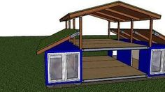 Shipping Container House Floor Plans | Lion Containers Ltd ~ Great pin! For Oahu architectural design visit http://ownerbuiltdesign.com