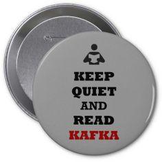 """William Faulkner Books, William Faulkner Quotes, William Faulkner Buttons,""""Keep Quiet and Read Faulkner"""" Button William Faulkner Quotes, Kafka Quotes, Keep Quiet, How To Make Buttons, Keep Calm, Reading, Books, Libros, Stay Calm"""