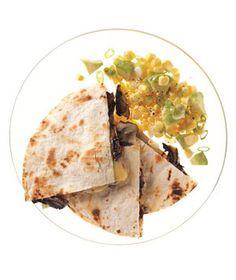 Grilled Portobello Quesadillas