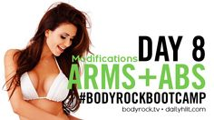 Click here for your modifications, equipment-free alternatives and daily diet suggestions!