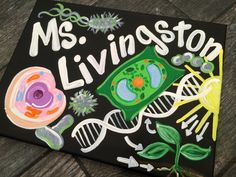 Biology Teacher  Sign  Teacher Door Sign Hanger  by MelanieLupien