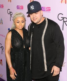 Pin for Later: Rob Kardashian and Blac Chyna Make Their Red Carpet Debut as Engaged, Expectant Parents