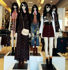 """FOREVER21, Oxford Street, London, UK, """"Street Style has become just as major as the runway shows themselves"""", photo by TrendZ Bureau, pinned by Ton van der Veer"""