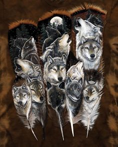 31 ideas for tattoo wolf indian spirit animal wolves Wolf Images, Wolf Pictures, Feather Painting, Feather Art, Elephant Tattoos, Wolf Tattoos, Wolf Spirit Animal, Wolf Love, Beautiful Wolves