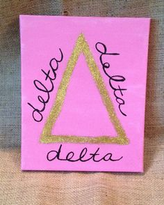 Change it to Phi Sigma Sigma and draw the LITP symbol instead of the delta greek letter.