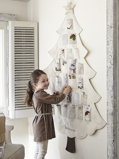 Such a darling advent calendar « Pottery Barn Kids