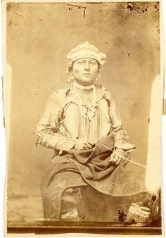 Kaw man - circa 1867