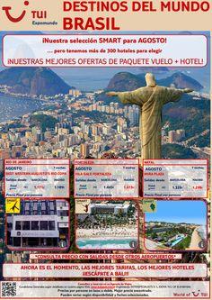 Baila a ritmo de #samba en #Brasil en #agosto con las #ofertas de #smart de #vuelo y #hotel