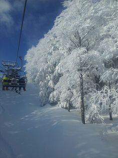Snow day in Sestola,Italy.
