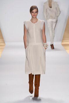 white dress - J. Mendel Fall 2013