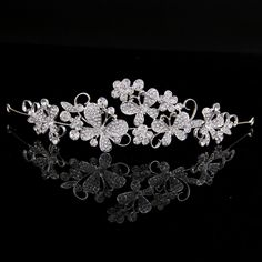 Cheap fashion hair jewelry, Buy Quality hair jewelry directly from China bridal hair jewelry Suppliers: 2016 New Delicate Tiara Crown Gift Hair Crystal Bride Headdress Fashion Flower Handband Wedding Hairwear Bridal Hair Jewelry