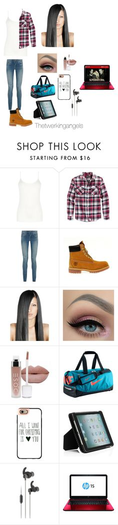"""""""Supernatural images/preferences"""" by emilylvmuncraft ❤ liked on Polyvore featuring Oasis, Retrofit, Yves Saint Laurent, Timberland, NIKE, Casetify, Kate Spade and JBL"""