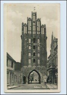 Gollnow in Pommern Wolliner Tor AK Foto 1939