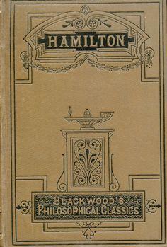 'Hamilton' by John Veitch. W. Blackwood; Edinburgh, London,  1882